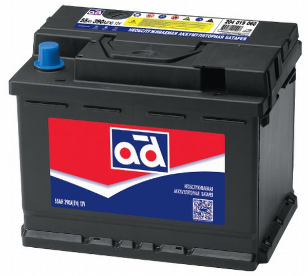 Аккумулятор AD 62 R+