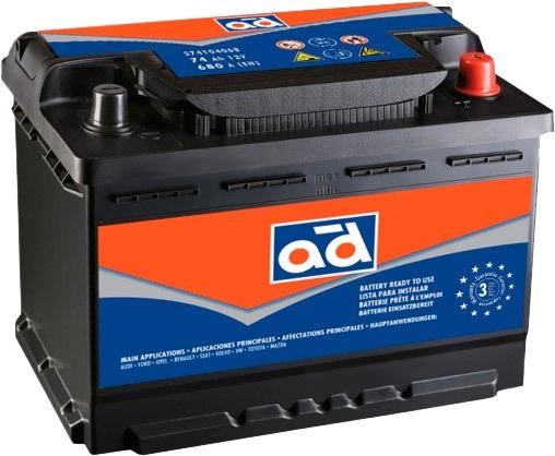 Аккумулятор AD 66 R+