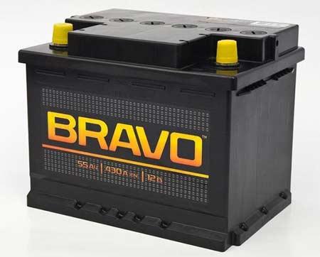 Аккумулятор AKOM Bravo 55A R+