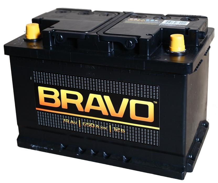 Аккумулятор AKOM Bravo 74A R+