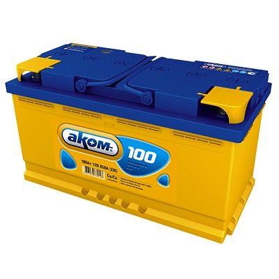 Аккумулятор AKOM Стандарт, 100A R+