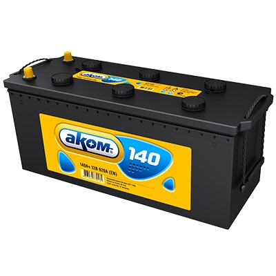 Аккумулятор AKOM 140A R+