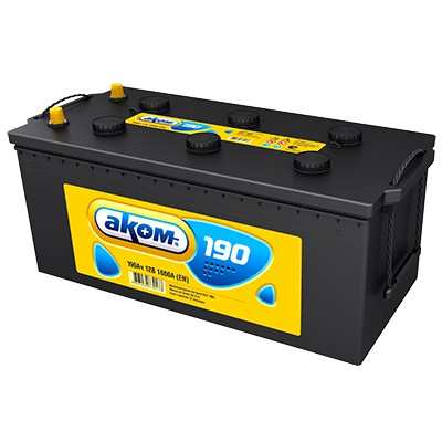 Аккумулятор AKOM 190A R+