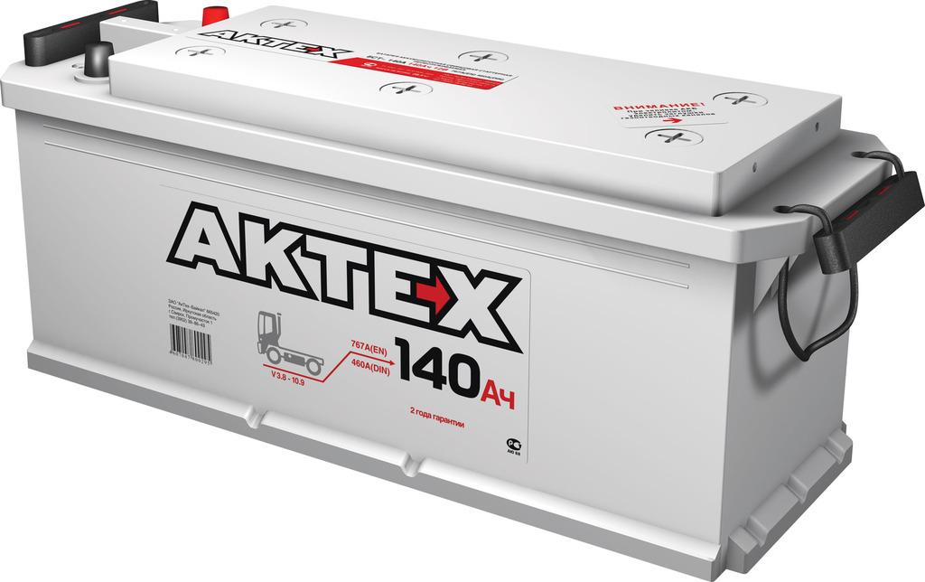 Аккумулятор АкТех 140 L+