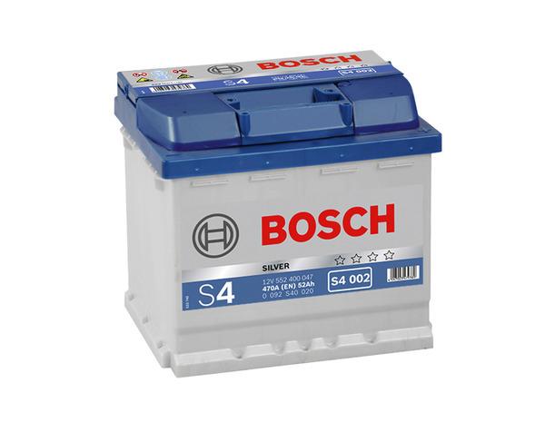 Аккумулятор Bosch S4 52 R+