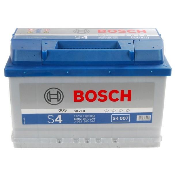 Аккумулятор Bosch S4 72 R+ S4007