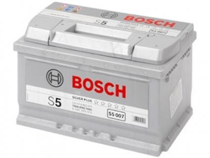 Аккумулятор Bosch S5 74 R+ S5007