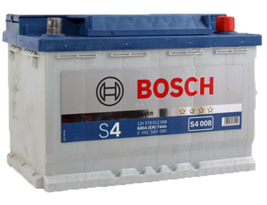Аккумулятор Bosch S4 74 R+ S4008