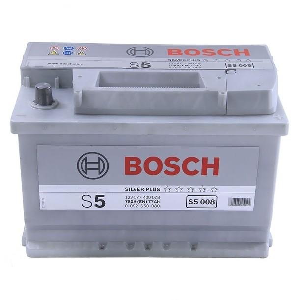 Аккумулятор Bosch S5 77 R+ S5008