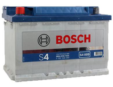 Аккумулятор Bosch S4 74 L+ S4009