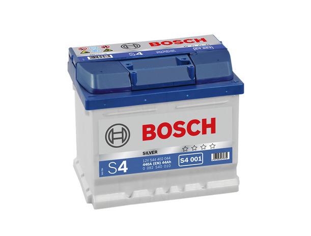 Аккумулятор Bosch S4 Silver 44 R+ S4001