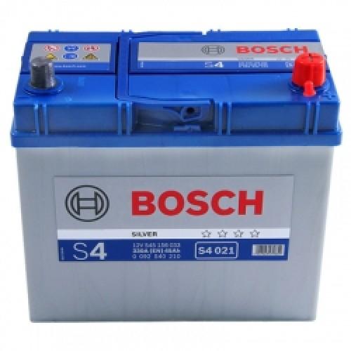 Аккумулятор Bosch S4 Silver Asia 45 A, R+