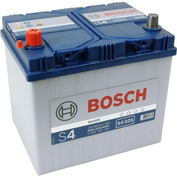 Аккумулятор Bosch S4 60 L+ S4025