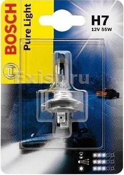 Лампа галогеновая Bosch Pure Light
