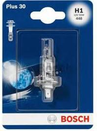Лампа галогеновая Bosch Plus 30