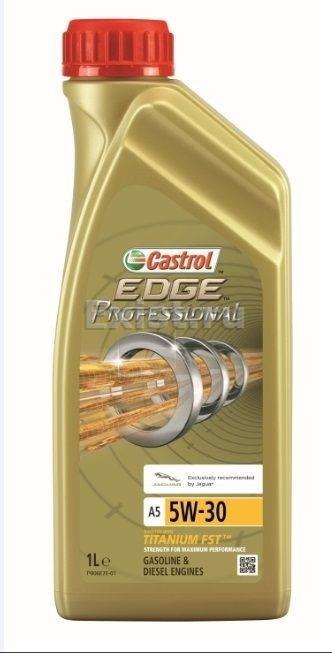 Масло моторное Castrol Edge Professional A5 Titanium FST Jaguar 5W-30