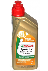 Масло трансмиссионное Castrol Syntrax Limited Slip, 75W-140