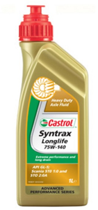 Масло трансмиссионное Castrol Syntrax LongLife, 75W-140