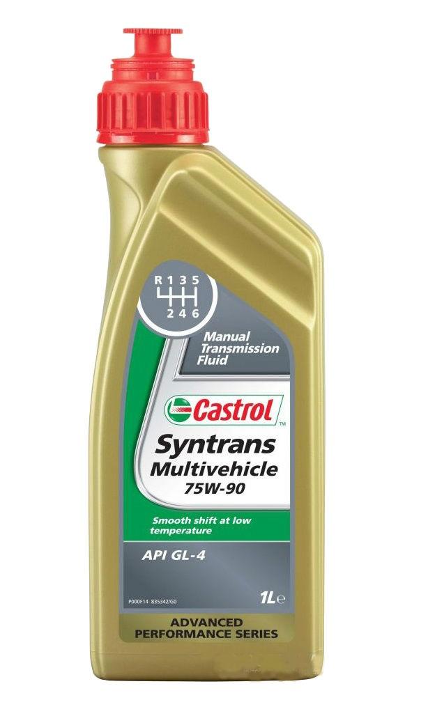 Масло трансмиссионное Castrol Syntrans Multivehicle, 75W-90