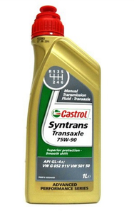 Масло трансмиссионное Castrol Syntrans Transaxle, 75W-90
