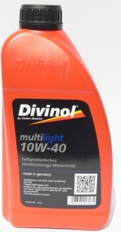 Масло моторное Divinol MultiLight 10W-40