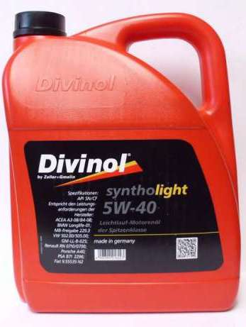 Масло моторное Divinol SynthoLight 5W-40