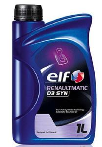 Масло трансмиссионное Elf ATF RenaultMatic D3 Syn