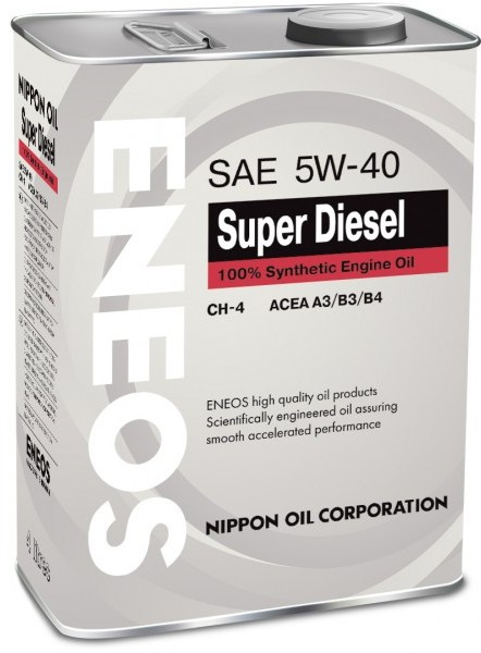 Eneos Super Diesel CH-4, 5W-40