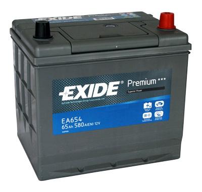 Аккумулятор Exide Premium 65 R+