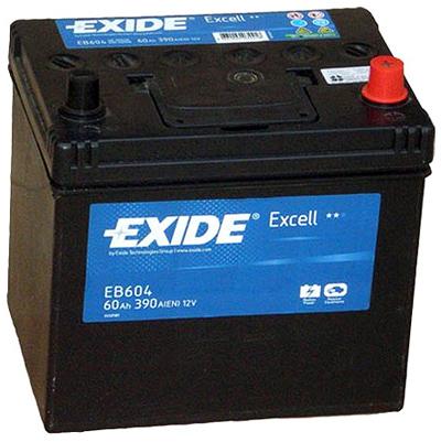 Аккумулятор Exide Excell 60 R+