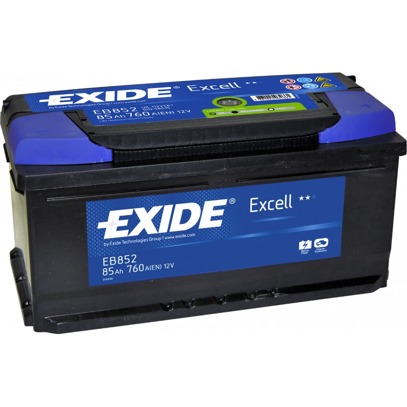 Аккумулятор Exide Excell 85 R+