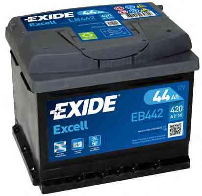 Аккумулятор Exide Excell 44 R+