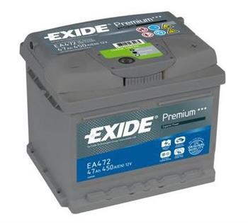 Аккумулятор Exide Premium 47 R+