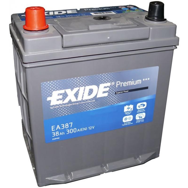 Аккумулятор Exide Premium 38 L+