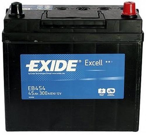 Аккумулятор Exide Excell 45 R+