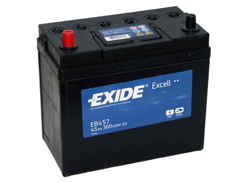 Аккумулятор Exide Excell 45 L+