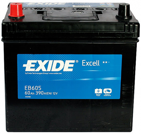 Аккумулятор Exide Excell 60 L+