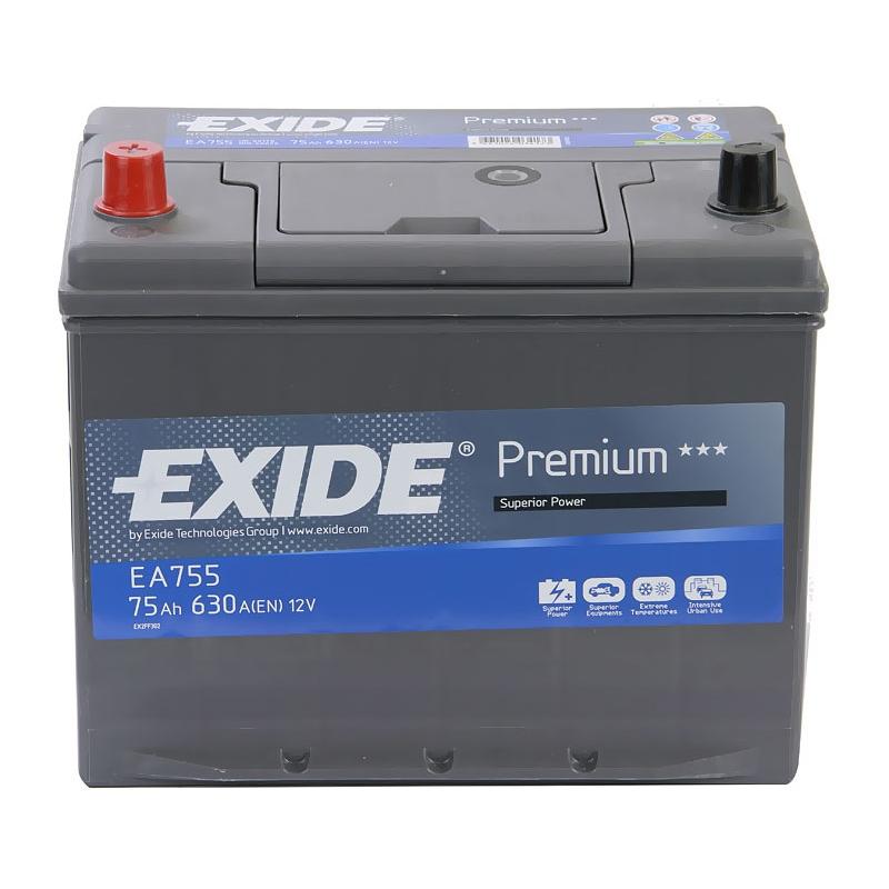 Аккумулятор Exide Premium 75 L+
