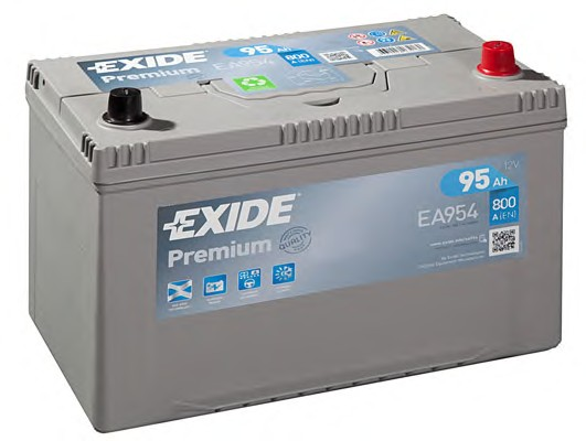 Аккумулятор Exide Premium 95 R+