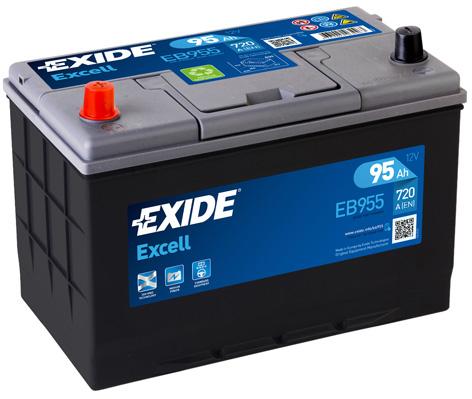 Аккумулятор Exide Excell 100 L+