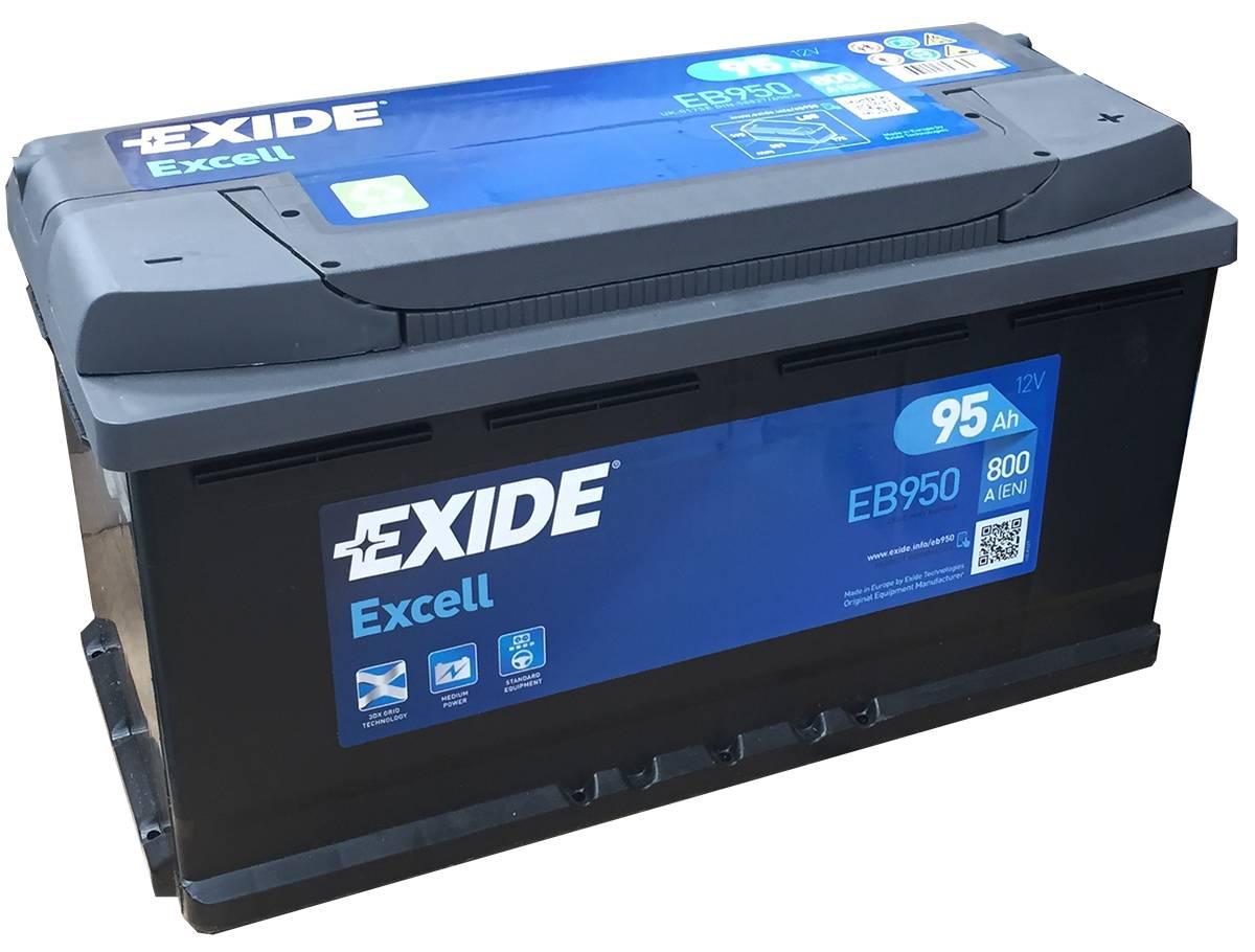 Аккумулятор Exide Excell 95 R+