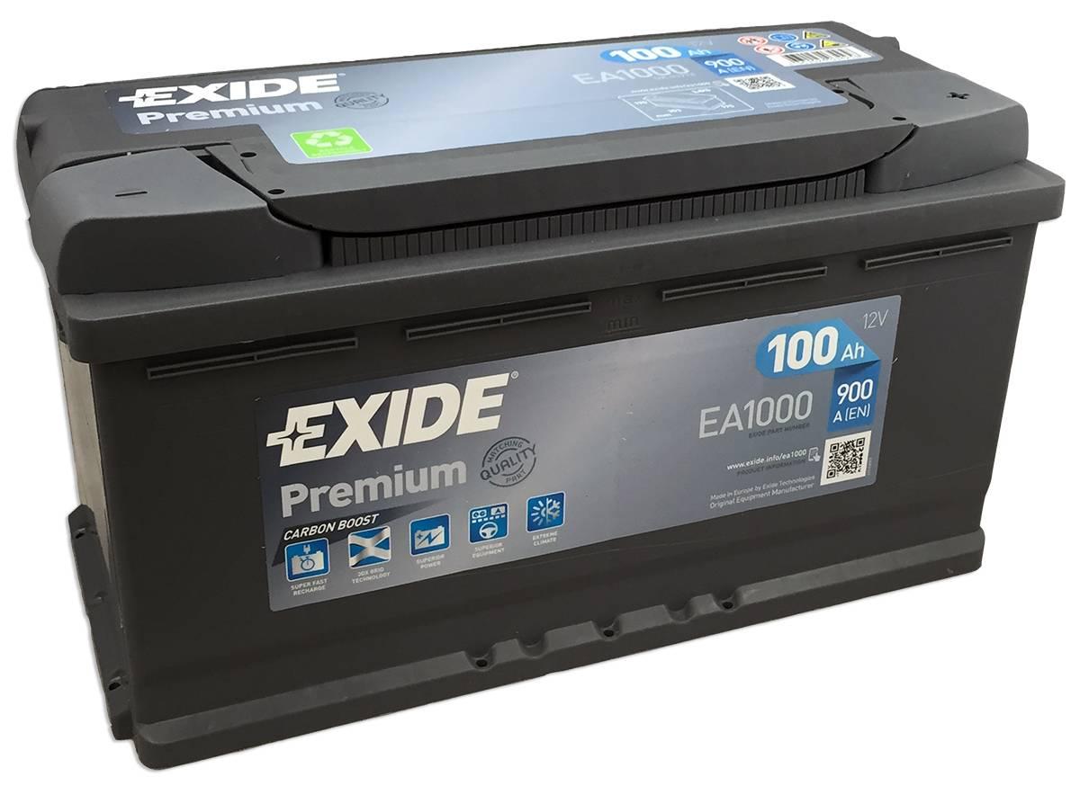 Аккумулятор Exide Premium 1000 R+