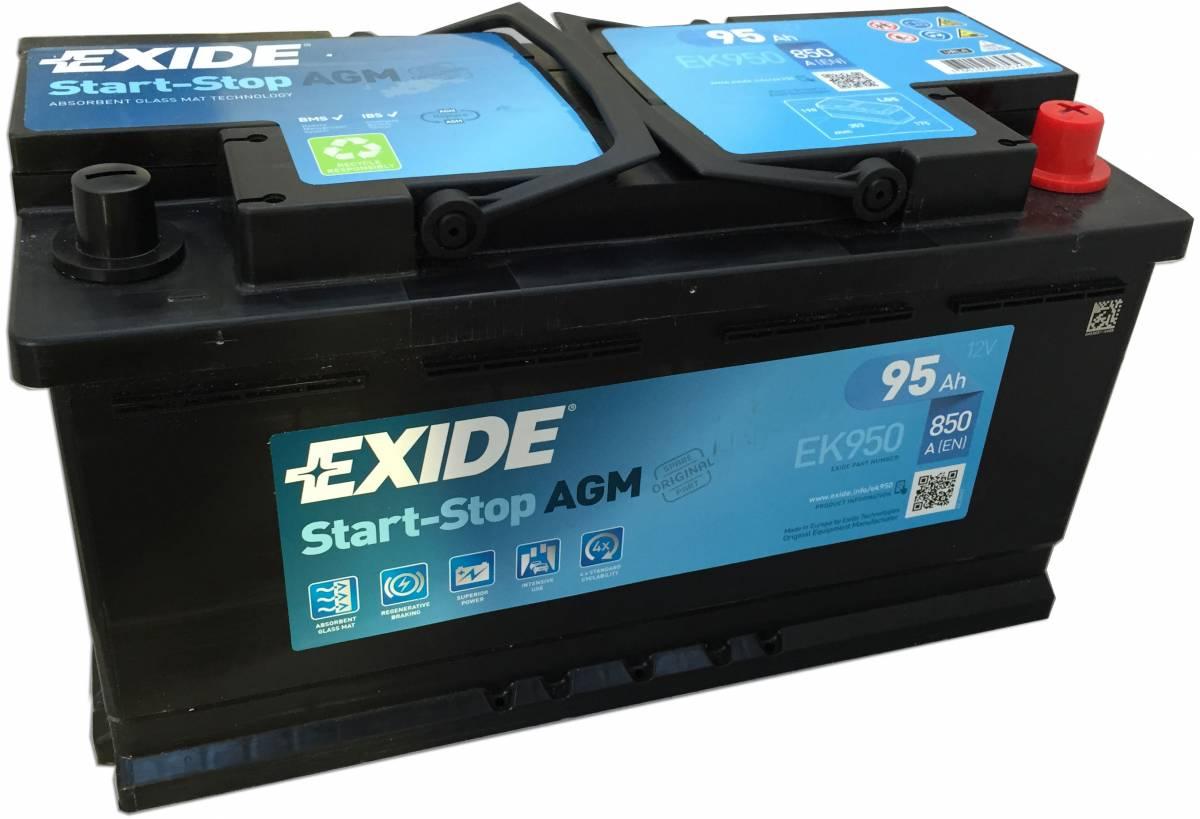 Аккумулятор Exide AGM 95R+