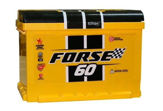 Аккумулятор Forse 60 L+