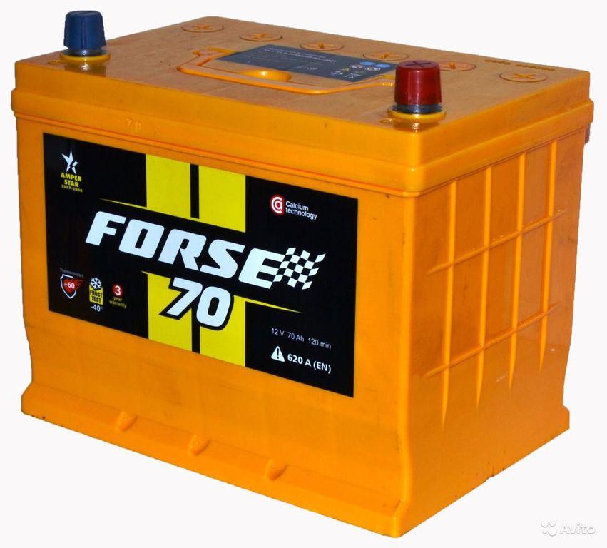 Аккумулятор Forse 70 R+
