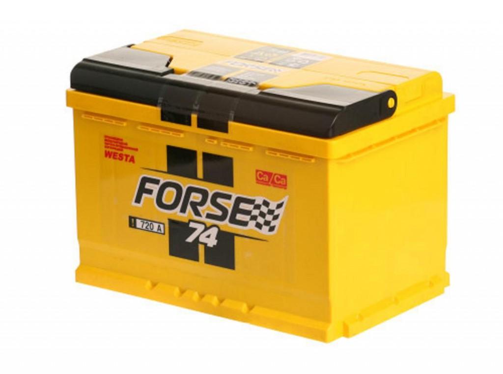 Аккумулятор Forse 74 R+