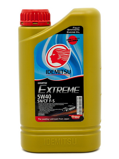 Масло моторное Idemitsu Extreme 5W-40 SN/CF F-S