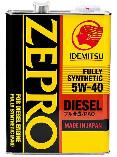 Масло моторное Idemitsu Zepro Diesel 5W-40 CF