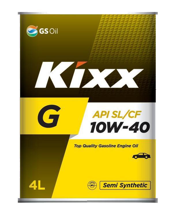 Масло моторное Kixx G1 10W-40