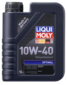 Масло моторное Liqui Moly Optimal, 10W-40